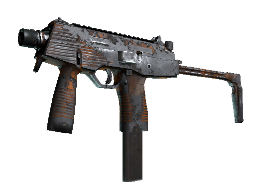 MP9 | Orange Peel Battle-Scarred