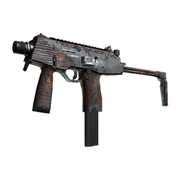 Souvenir MP9 | Orange Peel (Battle-Scarred)
