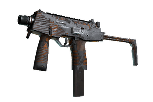 Mp9 Orange Peel Battle Scarred