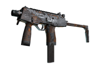MP9   Orange Peel (Battle-Scarred)