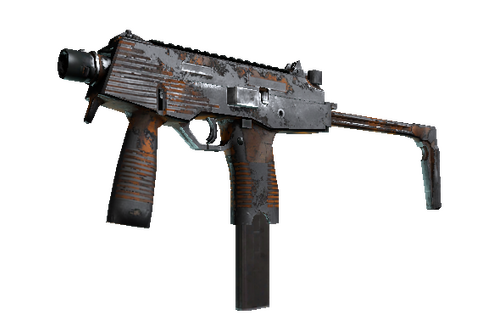 Buy MP9 | Orange Peel (Battle-Scarred)