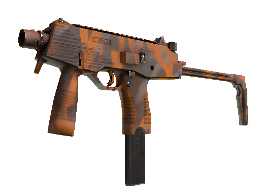 Item: MP9 | Orange Peel