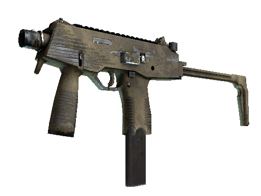 Dust 2 MP9 Sand Dashed