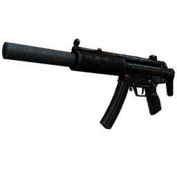 StatTrak™ MP5-SD | Acid Wash (Battle-Scarred)