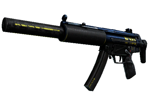 Скин MP5-SD | Агент (Закалённое в боях)