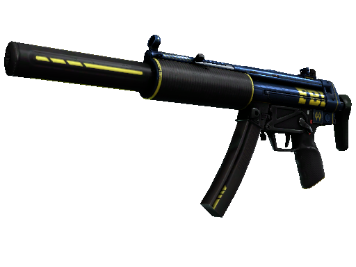 Скин StatTrak™ MP5-SD | Агент (После полевых испытаний)