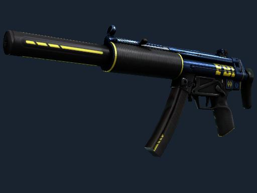 StatTrak™ MP5-SD | Agent (Battle-Scarred)