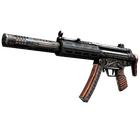 MP5-SD | Gauss (Battle-Scarred)