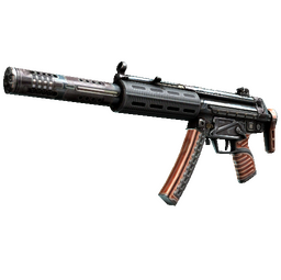 StatTrak™ MP5-SD | Gauss (Well-Worn)