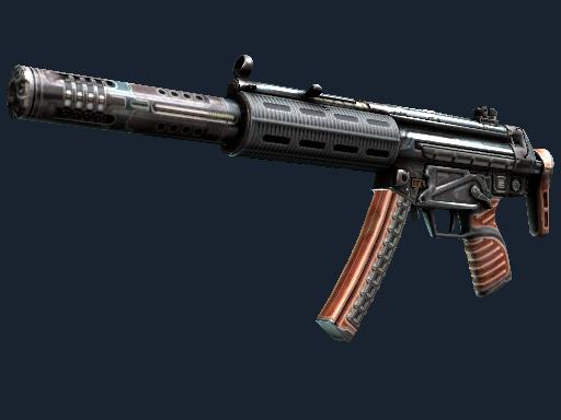 Скин MP5-SD | Гаусс (После полевых испытаний)