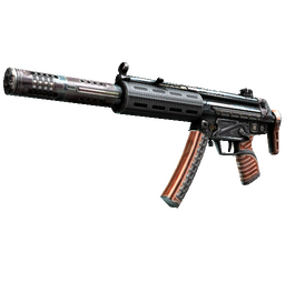 StatTrak™ MP5-SD | Gauss (Factory New)