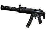 Souvenir MP5-SD | Dirt Drop (Battle-Scarred)