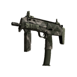 MP7 | Olive Plaid (Minimal Wear)