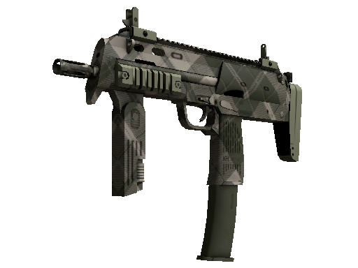 MP7 | Olive Plaid (Battle-Scarred)