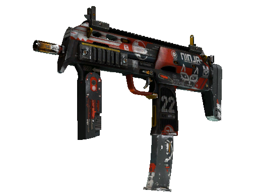 StatTrak™ MP7 | Bloodsport (Battle-Scarred)