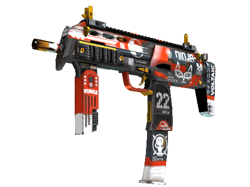 StatTrak™ MP7 | Bloodsport (Field-Tested)