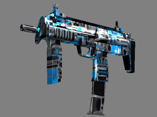 MP7 | Cirrus (Battle-Scarred)
