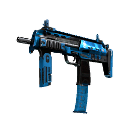free csgo skin StatTrak™ MP7 | Cirrus (Battle-Scarred)