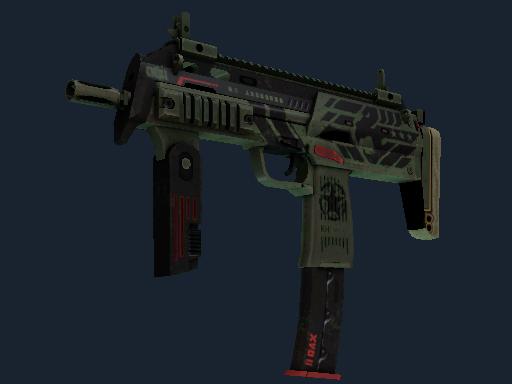 StatTrak™ MP7 | Guerrilla (Battle-Scarred)