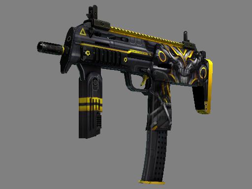 Скин MP7 | Заклятый враг (Немного поношенное)