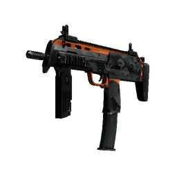 StatTrak™ MP7 | Urban Hazard (Well-Worn)