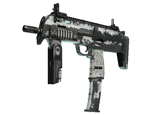MP7 | Whiteout Battle-Scarred