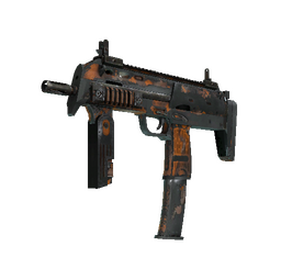 Souvenir MP7 | Orange Peel (Battle-Scarred)