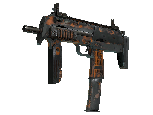 MP7 | Orange Peel Battle-Scarred