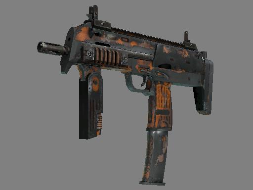 Скин MP7   Апельсиновая корка (Закалённое в боях)