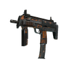 Souvenir MP7   Orange Peel <br>(Battle-Scarred)