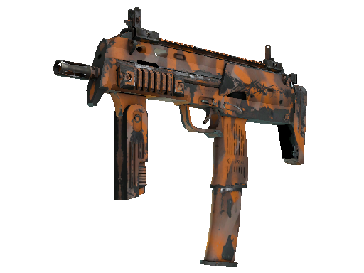 MP7 | Orange Peel Well-Worn