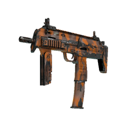 Souvenir MP7 | Orange Peel (Well-Worn)