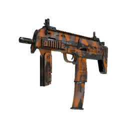 MP7 | Orange Peel (Well-Worn)