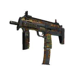 StatTrak™ MP7 | Akoben (Battle-Scarred)