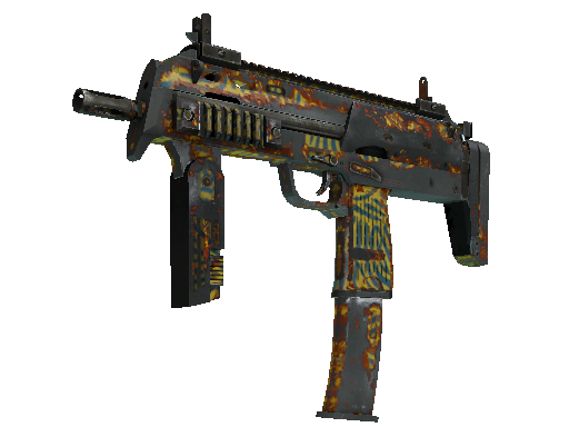 MP7 | Akoben Battle-Scarred