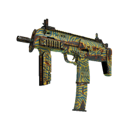StatTrak™ MP7 | Akoben (Well-Worn)