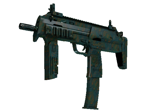 MP7 | Teal Blossom (Battle-Scarred)