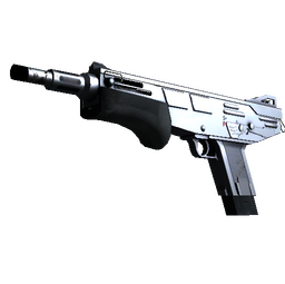 MAG-7 | Silver (Minimal Wear)