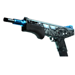 StatTrak™ MAG-7 | Hard Water (Minimal Wear)