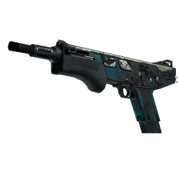 StatTrak™ MAG-7 | Sonar (Well-Worn)