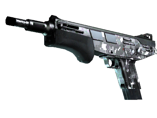 MAG-7 | Metallic DDPAT (Minimal Wear)