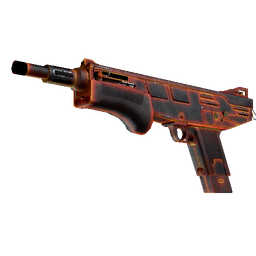 StatTrak™ MAG-7 | Heat (Battle-Scarred)