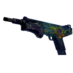 StatTrak™ MAG-7 | Monster Call (Battle-Scarred)