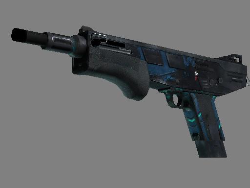 StatTrak™ MAG-7 | Cobalt Core (Battle-Scarred)