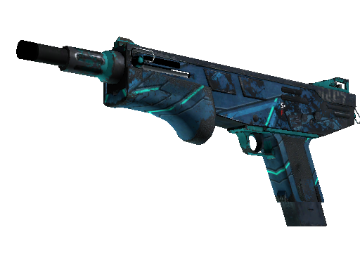 MAG-7 | Cobalt Core (Well-Worn)
