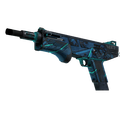 MAG-7 | Cobalt Core <br>(Well-Worn)