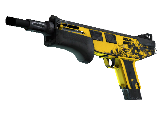 MAG-7 | Bulldozer (Well-Worn)