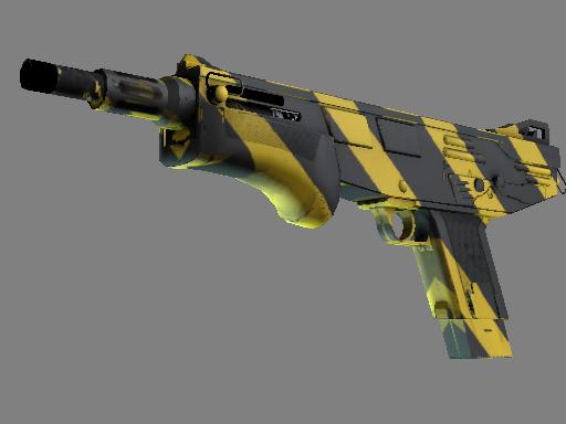 Alpha MAG-7 Желто-черные полосы