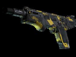 MAG-7 | Желто-черные полосы (После полевых испытаний)