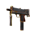 MAC-10 | Heat <br>(Battle-Scarred)